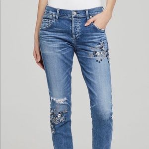 Citizens of Humanity Emerson Embroidered Jeans